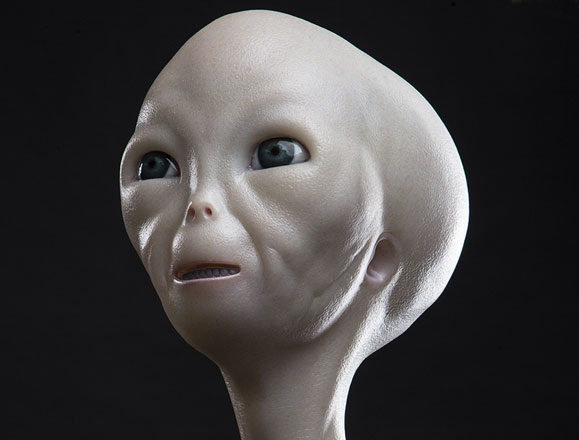 ECC Close Encounters of the Third Kind Alien Bust
