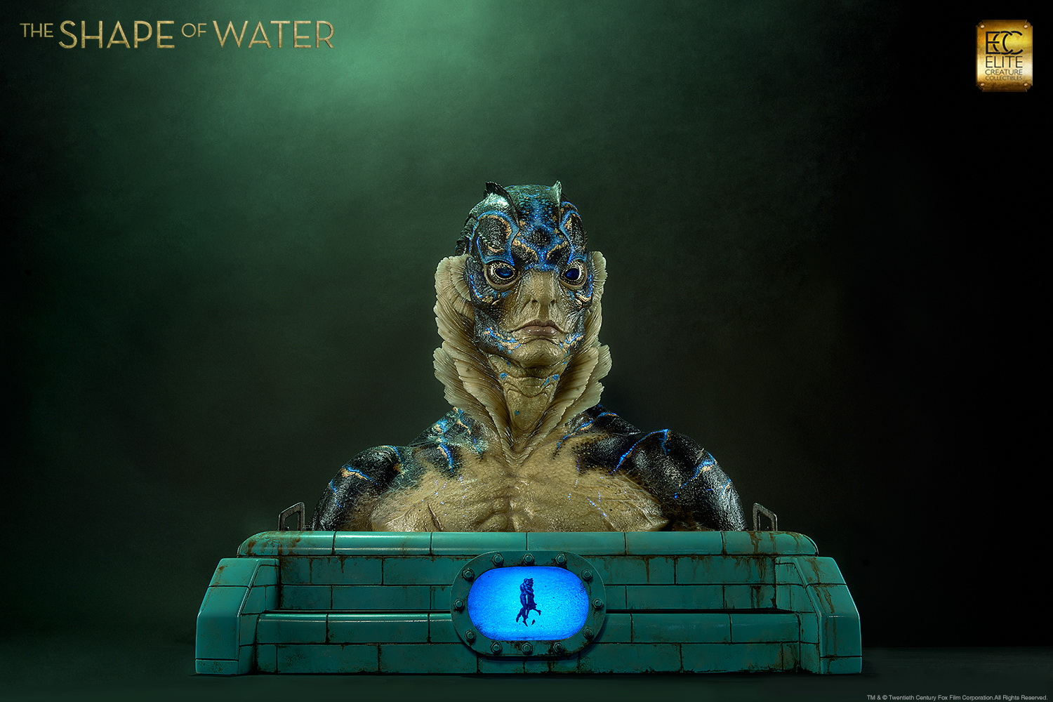 Shape of Water Bust