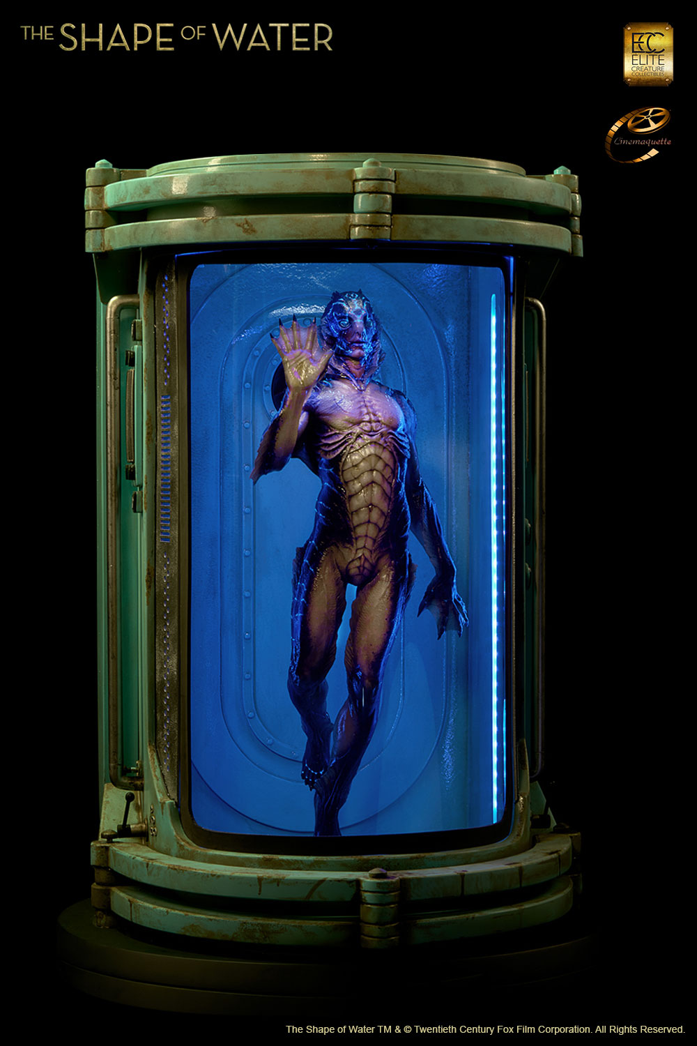 Shape of Water Maquette