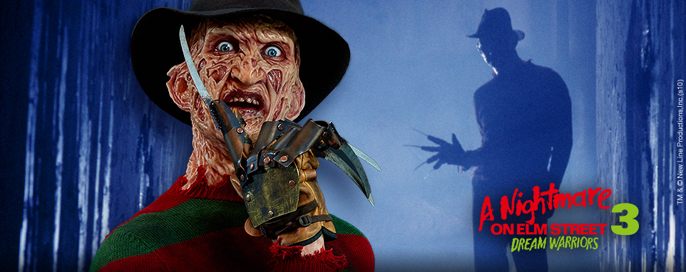 Freddy krueger bust 18200 cinemaquette bringing the - Pictures of freddy cougar ...