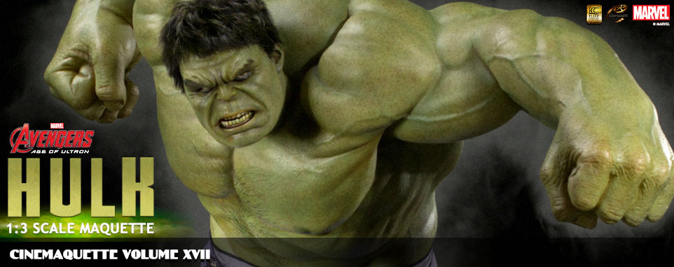 Avengers Movie 2 - HULK 1:3 Scale Maquette