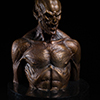 Underworld Evolution Marcus Bronze Bust